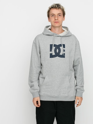DC Star HD Hoodie (heather grey)