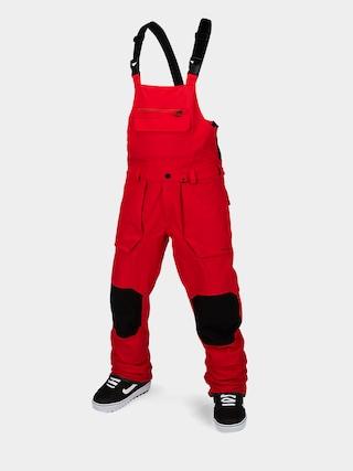 Volcom Roan Bib Overall Snowboard pants (red)