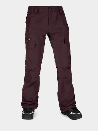 Volcom Aston Gore Tex Snowboard pants Wmn (black red)
