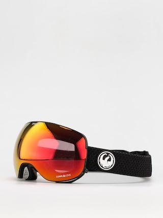 Dragon X2 Goggles (split/ll red ion/ll light rose)