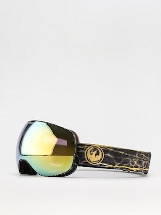 Dragon X2 Goggles (14 karat/ll gold ion/ll amber)