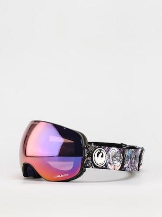 Dragon X2 Goggles (schoph dap 20 /ll purple ion/ll amber)