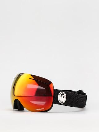 Dragon X1 Goggles (split/ll red ion/ll light rose)