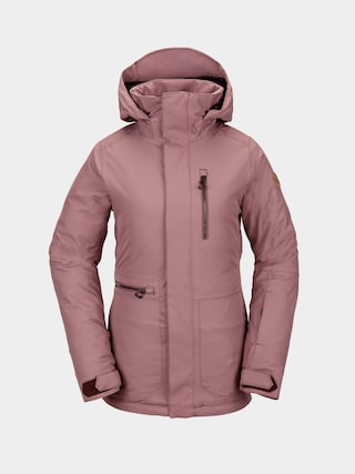 Volcom Shelter 3D Stretch Snowboard jacket Wmn (rose wood)