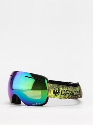Dragon X1S Goggles (terra firma/ll green ion/ll amber)