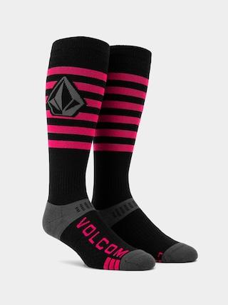 Volcom Kootney Socks (magenta)