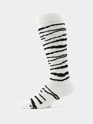 Volcom Lodge Socks (white tiger)