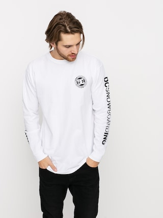 DC Snowboarding Longsleeve (white)