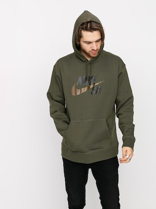 Nike SB Icon HD Hoodie (cargo khaki/yukon brown)