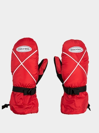 Volcom X Mitt Gloves (red)