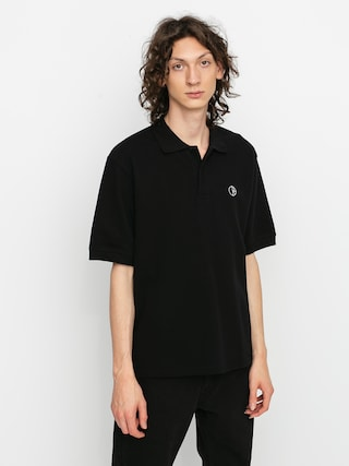 Polar Skate Pique Polo t-shirt (black)