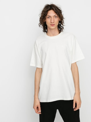 Polar Skate Script T-shirt (cloud white)