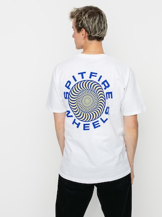 Spitfire Clsc 87 Swrl T-shirt (white/blue)