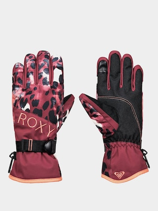Roxy Jetty Gloves Wmn (oxblood red leopold)