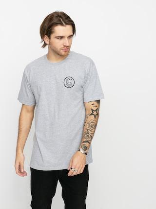 Spitfire Clssc Swrl T-shirt (athletic heather/black)