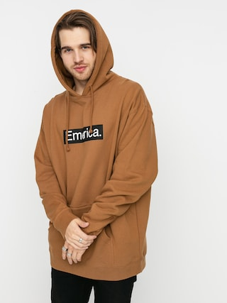 Emerica Pure Bar HD Hoodie (brown)