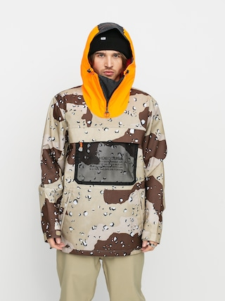 DC Asap Anorak Snowboard jacket (chocolate chip camo)