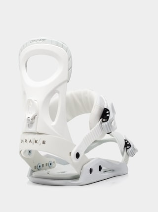 Drake King Snowboard bindings (white)
