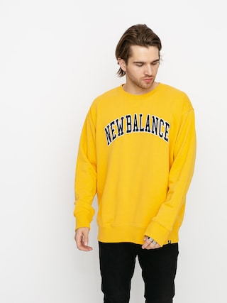 New Balance Collegiate Crew Sweatshirt (yellow)