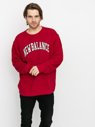 New Balance Collegiate Crew Sweatshirt (red)