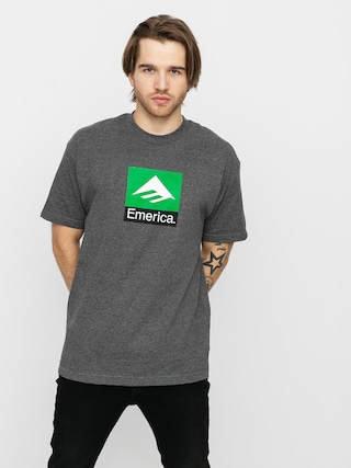 Emerica Classic Combo T-shirt (charcoal/heather)