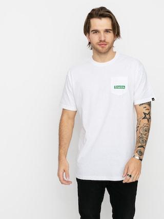 Emerica Pure Triangle Pocket T-shirt (white)