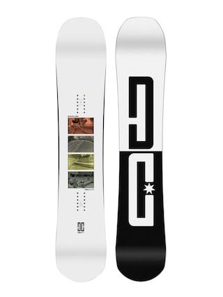 DC Emb Snowboard (white/white/black)