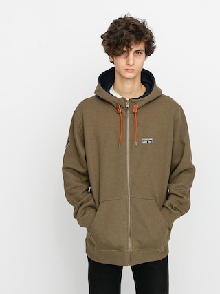 Quiksilver Big Logo Snow ZHD Active sweatshirt (military olive)