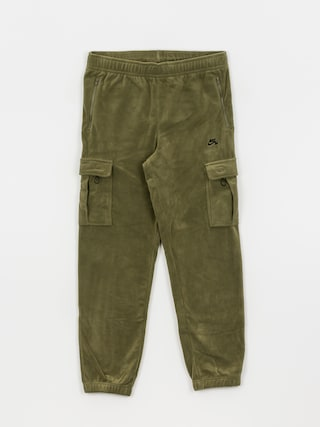 Nike SB Novelty Cargo Pants (medium olive/electro orange/black)