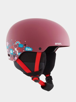 Anon Rime 3 Helmet (doodle red)