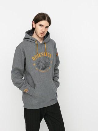 Quiksilver Big Logo Snow HD Active sweatshirt (heather grey)