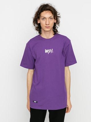 MassDnm Signature Small Logo T-shirt (purple)