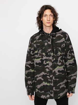 Volcom Field Ins Flannel Active sweatshirt (army)