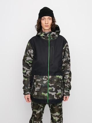 Volcom Deadlystones Ins Snowboard jacket (army)