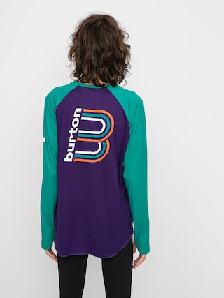 Burton Roadie Base Layer Tech Active longsleeve (parachute purple/dynasty green)