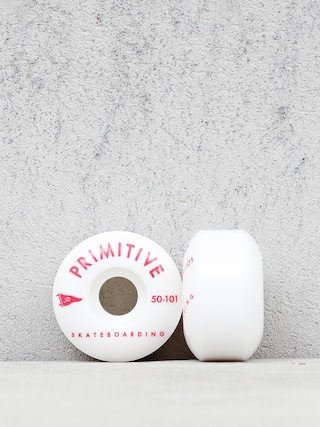 Primitive Pennant Arch Team Wheels (white/red)