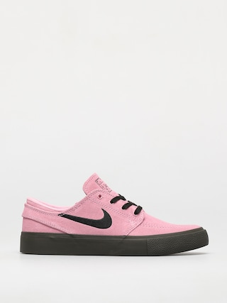 Nike SB Zoom Janoski Rm Shoes (pink rise/black pink rise newsprint)