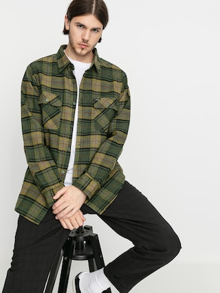 Brixton Bowery Flannel Ls Shirt (evergreen)