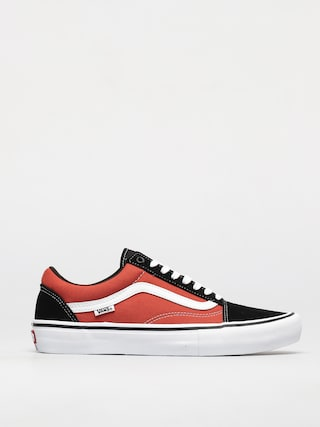 Vans Old Skool Pro Shoes (black/orange)