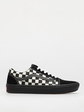 Vans Comfycush Old Skool Shoes (mixed media/antque/wht/blk)