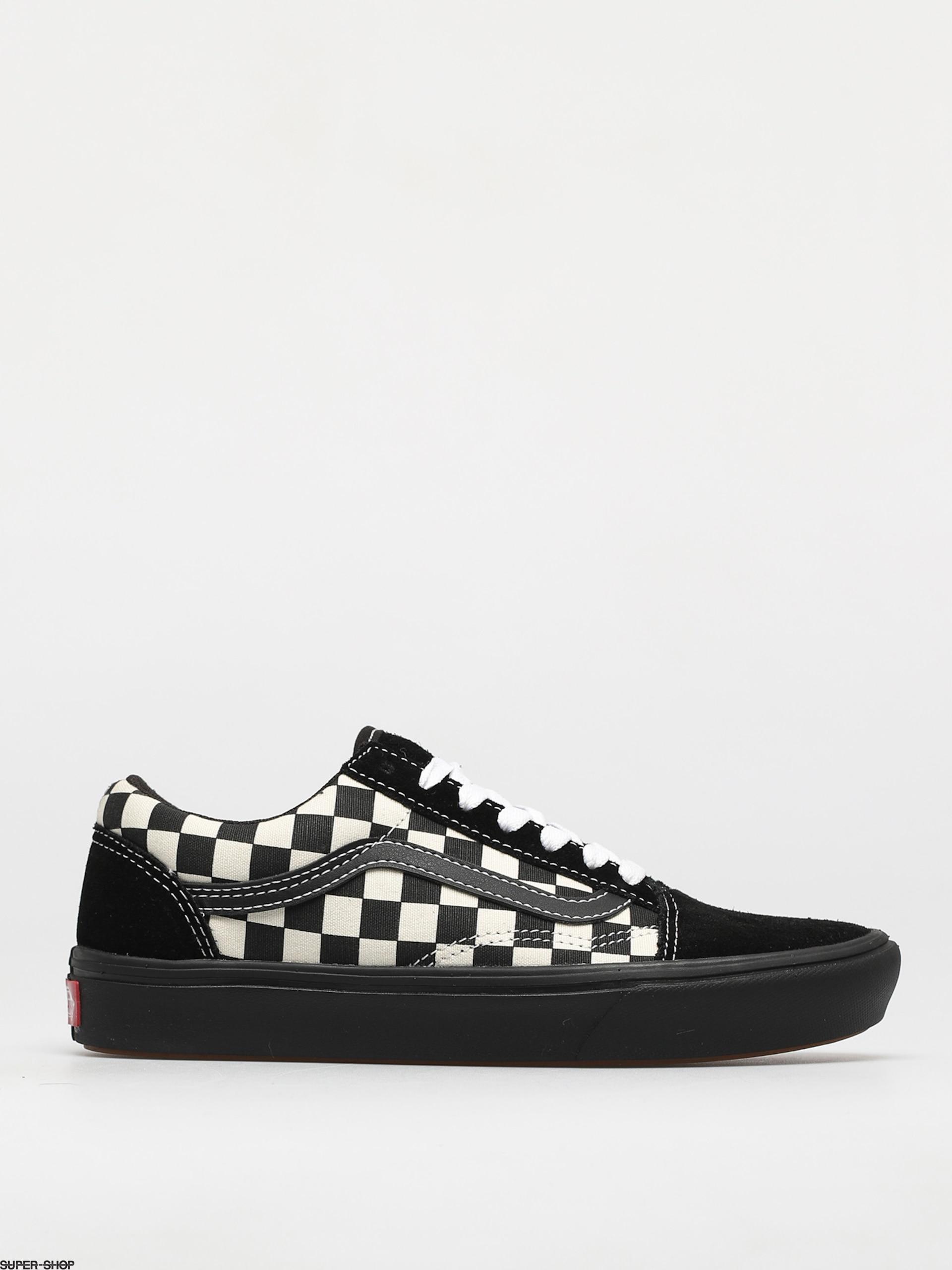 Vans Comfycush Old Skool Shoes (mixed media/antque/wht/blk)