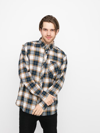 Element Lumber Shirt (green/off white)