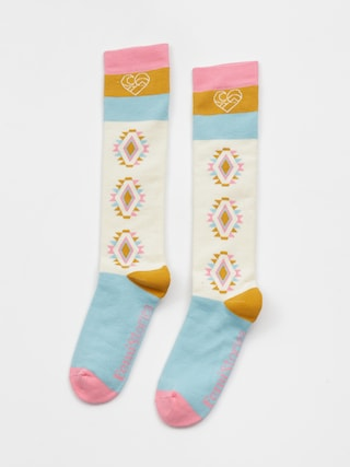 Femi Stories Snows Socks Wmn (ecrm)