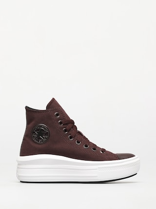 Converse Chuck Taylor All Star Move Shoes Wmn (black currant/black/white)
