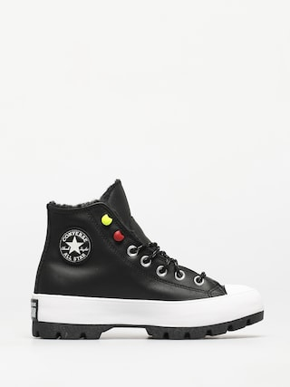 Converse Chuck Taylor All Star Lugged Winter Shoes Wmn (black/black/white)