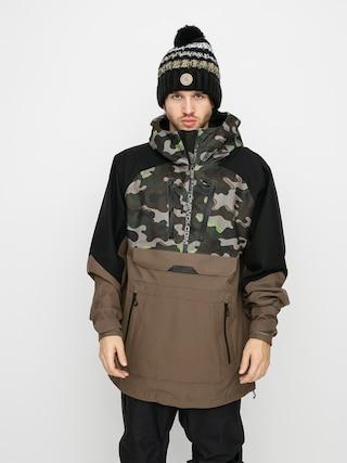 Volcom Brighton Pullover Snowboard jacket (army)