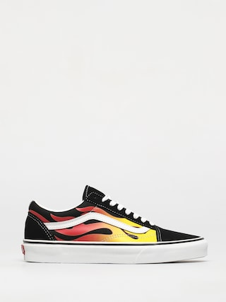 Vans Old Skool Shoes (flame/black/black/true white)