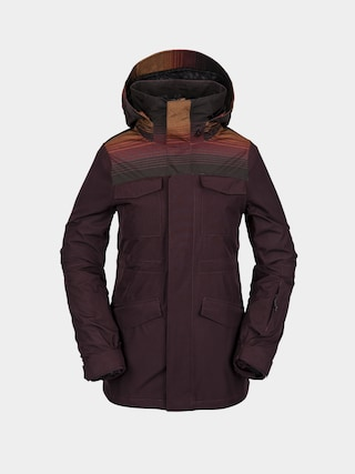 Volcom Leda Gore Tex Snowboard jacket Wmn (black red)
