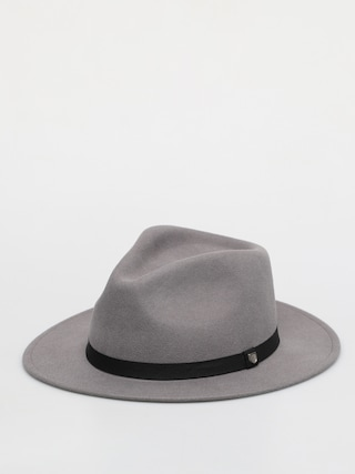 Brixton Messer Packable Fedora Hat (grey)