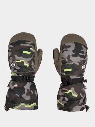 Volcom 91 Gore Tex Mitt Gloves (army)